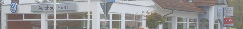 Autohaus Hartl GmbH - Der Volkswagen Partner und KIA Partner Logo